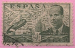 Stamps Spain -  Juan d´l´Cierva