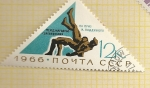 Stamps of the world : Russia :  Lucha grecoromana