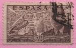 Stamps Spain -  La Cierva y autogiro