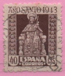 Stamps Spain -  Apostol Santiago
