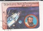 Sellos del Mundo : Asia : Laos : Sputnik 2 & Johannes Kepler