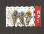 Stamps Belgium -  Tour de Francia