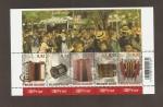 Stamps Belgium -  Acordeón