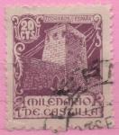 Stamps Spain -  Milenario d´Castilla (Castillo)