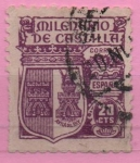 Sellos de Europa - España -  Milenario d´Castilla (Armadura d´Fernan Gonzalez)