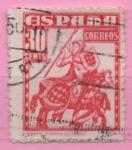 Stamps Spain -  Almirante Bonifaz