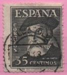 Sellos de Europa - España -  Hernan Cortes