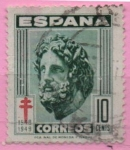 Sellos de Europa - España -  Pro Tuberculos (Esculapio)