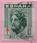Stamps Spain -  Pro Tuberculos (Esculapio)