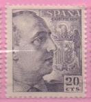 Stamps Spain -  General Franco