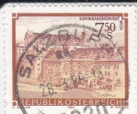 Stamps : Europe : Austria :  CONVENTO DE LAS DOMINICAS- VIENA
