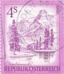 Sellos de Europa - Austria -  paisaje Almsee Austria
