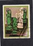 Stamps United Arab Emirates -  Piezas de Ajedrez