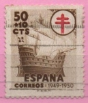 Stamps Spain -  Pro Tuberculos