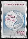 Stamps : America : Chile :  Chile-cambio