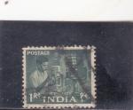 Stamps India -  tecnico