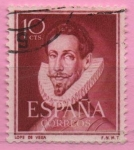 Stamps Spain -  Lope d´Vega