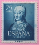 Stamps Spain -  Isabel l´Catolica