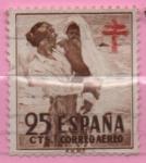Sellos de Europa - España -  Pro Tuberculos (Despues del baño)