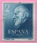 Stamps Spain -  Ramon Y cajal