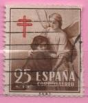 Sellos de Europa - España -  Pro Tuberculos (Protecion d´l´Infancia)