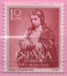 Stamps Spain -  Inmaculada