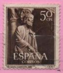Sellos de Europa - España -  Apostol Santiago