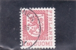 Stamps of the world : Finland :  LEON RAMPANTE