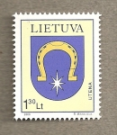 Stamps Europe - Lithuania -  Escudo de Utena