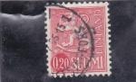Stamps : Asia : Finland :  LEON RAMPANTE