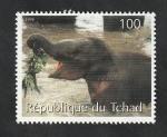 Sellos de Africa - Chad -  Elefante