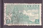 Sellos del Mundo : Asia : India : Templo