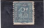 Stamps Sweden -  CORONA Y CORNETA DE CORREOS