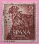 Sellos de Europa - España -  N.S. d´Africa