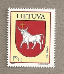 Stamps Europe - Lithuania -  Escudo de Kaunas