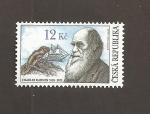 Sellos de Europa - República Checa -  Centenatio del nacimiento de Charles Darwin