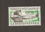 Stamps of the world : Czechoslovakia :  Tiro con arco