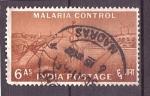 Sellos de Asia - India -  Control de la Malaria