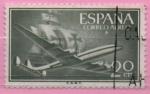 Stamps of the world : Spain :  Super Constelacion y Nao Santa Maria