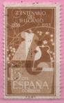 Stamps Spain -  Aisladores yAntena