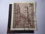 Stamps of the world : Germany :  Ayuntamiento de Schoneberg - 700 aniversario.