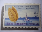 Sellos de Asia - Turquía -  Tabaco - Congreso de Comercio de Tabaco.