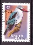 Sellos del Mundo : Africa : Sudáfrica : serie- Aves