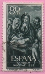 Sellos de Europa - España -  Sagrada Familia