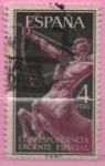 Stamps Spain -  Alegoria (Centauro)