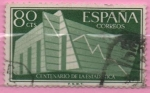 Stamps Spain -  Graficas estadisticas