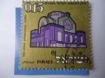 Sellos de Asia - Israel -  La gran Sinagoga en Tunis - Año Nuevo Judío 1970.