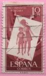 Stamps Spain -  Pro Infancia Hugara