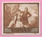 Sellos de Europa - España -  El Quita sol