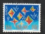 Sellos del Mundo : Europa : San_Marino :  1322 - Europa. Arte contemporáneo, Obra de Nicola de María